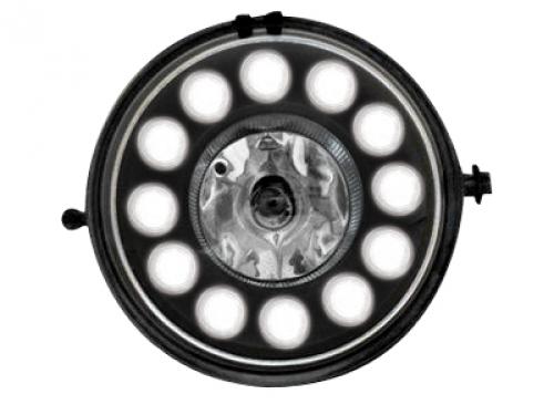 Nebelscheinwerfer TAGFAHRLICHT MINI One/S/JCW/R56 _black